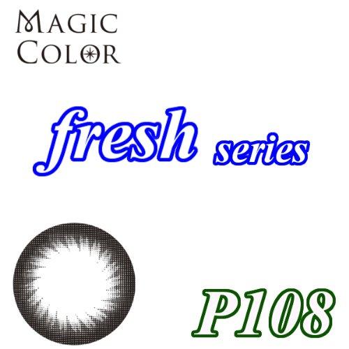 MAGICCOLOR (マジックカラー) fresh P108 度なし 14.0mm 1ヵ月使用 2枚入り