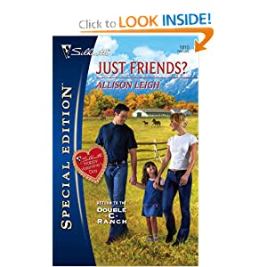 Just Friends?. Allison Leigh (Silhouette Special Edition Large Print) Allison Leigh