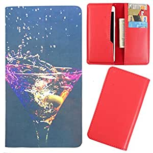 DooDa - For Alcatel Idol 2 PU Leather Designer Fashionable Fancy Case Cover Pouch With Card & Cash Slots & Smooth Inner Velvet