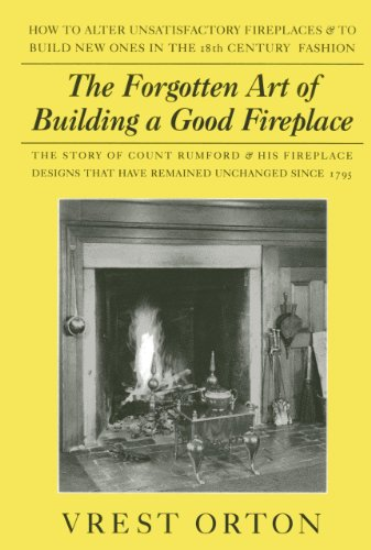 The Forgotten Art of Building A Good Fireplace (Masonry Fireplace compare prices)