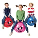 Toy - Junior Space Hopper in Red, Blu...
