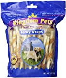 Kingdom Pets Dog Treat, 16-Ounces, Chicken and Rawhide Jerky Wraps