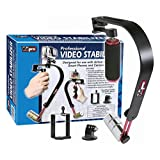 Vidpro SB-8 Video Stabilizer for GoPro, Smartphones, Cameras & Camcorders with Smartphone Holder & Adapter for GoPro