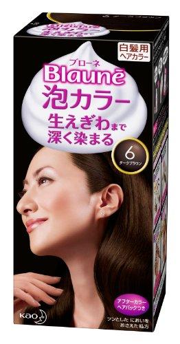 blaune awa hair color no 6 dark brown - K Pour Karit Coloration
