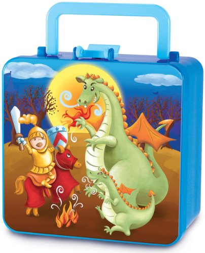 Piggy Story What's A Dragon? Double Decker Bento Box - 1