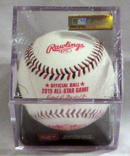 Rawlings Official 2015 All Star Game Leather Baseball - ASBB15 - Cincinnati Ohio - in Factory Sealed display case cube. (2015 All Star Game compare prices)