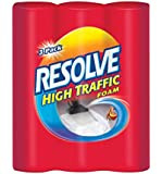 Resolve Carpet Cleaner High Traffic Foam, 22 Ounces, 3-Can Pack