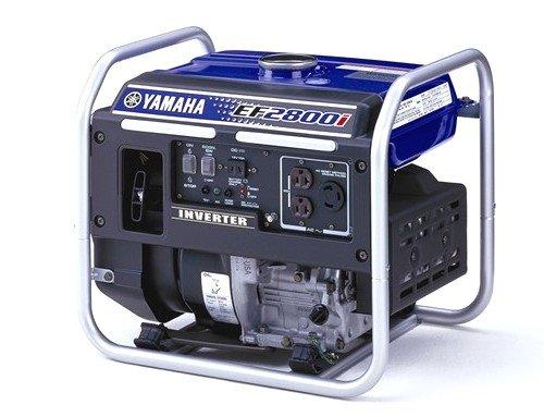 Yamaha EF2800i 2,800 Watt 171cc OHV 4-Stroke Gas Powered Portable Inverter Generator (CARB Compliant)
