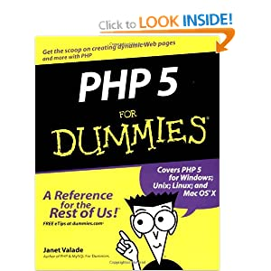PHP 5 For Dummies (For Dummies (Computers))