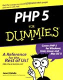 PHP 5 For Dummies (0764541668) by Janet Valade