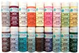 Martha Stewart PROMO767A 18 Satin Paints, Muted
