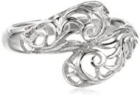 Sterling Silver Filigree By-Pass Ring from Amazon Curated Collection