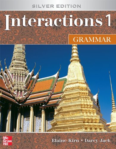Interactions 1 Grammar, Silver Edition (Student Book)