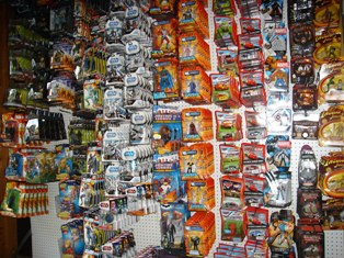 Backstage Toys Warehouse of Toys, Action Figures & Collectibles