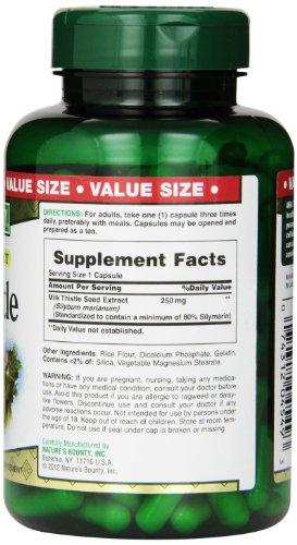凑单品:NATURE'S BOUNTY 自然之宝 Milk Thistle 奶蓟提取物(250mg*200粒)美国亚马逊