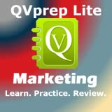FREE QVprep Lite Learn Marketing Management : Learn Test Review for MBA students, College majors in Marketing, Undergraduates, Marketing Professionals, for Corporate Training and exam preparation in Marketing Management