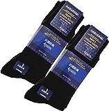 (ハルサク) HARUSAKU 靴下 メンズ ビジネス 黒 ブラック カラー ソックス セット 抗菌 防臭 25cm ~ 27cm (12足組)