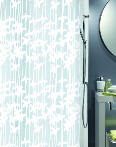 Spirella sarong white tenda per doccia in vinile for Spirella accessori bagno