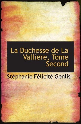 La duquesa de La Vallière, tomo segundo