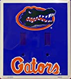 University of Florida Gators Collegiate Aluminum Novelty Double Light Switch Cover Plate at Amazon.com