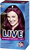 Schwarzkopf Live XXL Colour Luminance, Ultra Violet Number L76 - Pack of 3