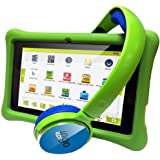 Ingo Devices - Tablet para niños con auriculares (INU075G)