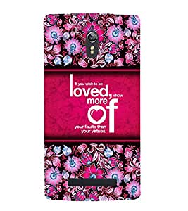 Wish To Be Loved 3D Hard Polycarbonate Designer Back Case Cover for Oppo Find 7