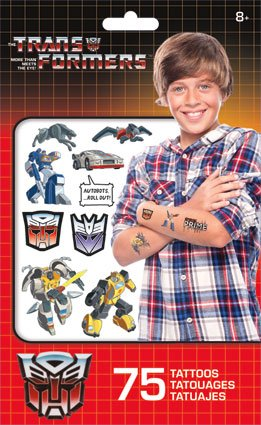 Transformers Temporary Tattoos - 75 Ct.