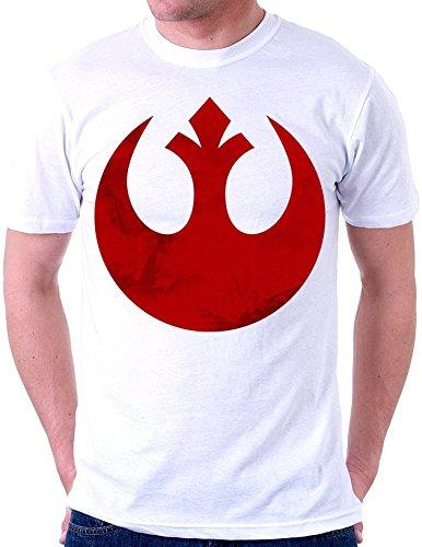 Star Wars Inspired Starbird Rebel Alliance Symbol Fan Artwork maglietta da uomo X-Large
