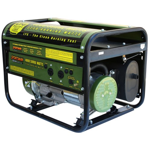 Sportsman GEN4000LP 4000-Watt 7 HP OHV Propane Powered Portable Generator