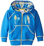 Kitestrings Little Boys' Boy French Terry Zip Front Hoodie