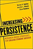 img - for Increasing Persistence: Research-based Strategies for College Student Success book / textbook / text book