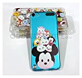 Disney Cartoon Heads Clear Hard Plastic Snap on Case for iPod Touch 5th & 6th Gen (Mickey Mouse & Friends)