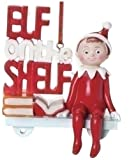 Elf on the Shelf 3-1/2-Inch Elf on the Shelf with Dangle Legs Hanging Resin Ornament