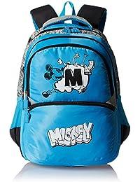 Simba 16 Inches Light Blue Children's Backpack (BTS-2039)