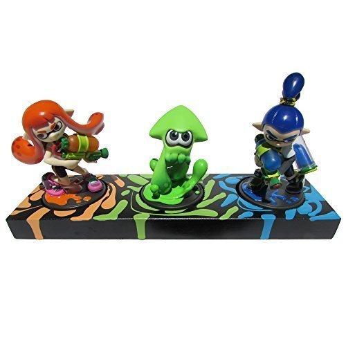 Splatoon Amiibo Figures