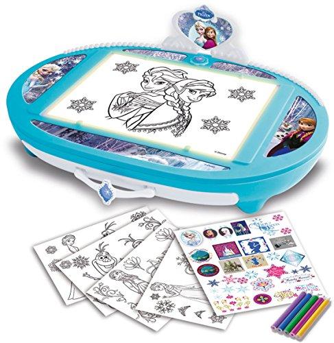 Frozen - Ilumina y dibuja, juego creativo (IMC Toys 16033)