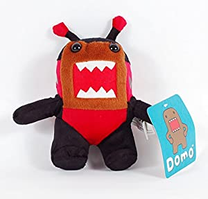 """Small Domo dressed in a Cute Lady Bug costume, ~7"""" tall"""