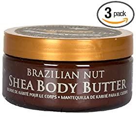 Tree Hut Shea Body Butter, 7-Ounce Jars (Pack of 3)