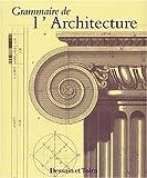 echange, troc Emily Cole - Grammaire de l'architecture