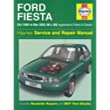 Ford Fiesta Service and Repair Manual: Petrol and Diesel 1995-2002 (Haynes Service and Repair Manuals)by Steve Rendle
