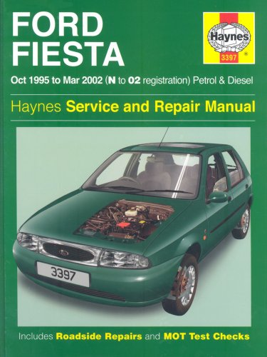 Ford Fiesta Service and Repair Manual: Petrol and Diesel 1995-2002 (Haynes Service and Repair Manual (Ford Fiesta Manual compare prices)