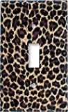 51EHFRM2A3L. SL160  Leopard Print Switch Plate   Single Toggle