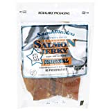 SnackMasters Salmon Jerky Original, 2-Ounce Packages (Pack of 8)