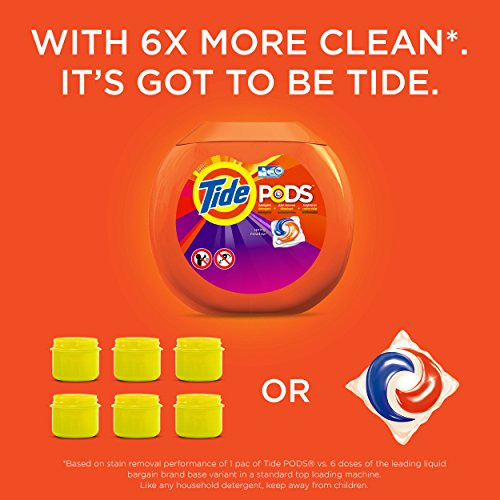 Tide 50949 Pods, Spring Meadow, 14 Per Pack