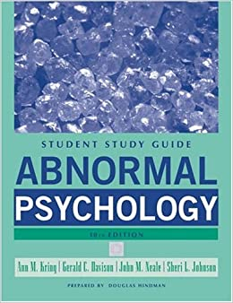 abnormal psychology assignments Abnormality can be defined as a deviation from social norms this means that we label people as abnormal if their behaviour is different from what we accept as the.