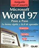 img - for MS Word 97 Paso a Paso book / textbook / text book