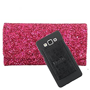 DooDa PU Leather Wallet Flip Case Cover With Card & ID Slots For vivo Y35 - Back Cover Not Included Peel And Paste