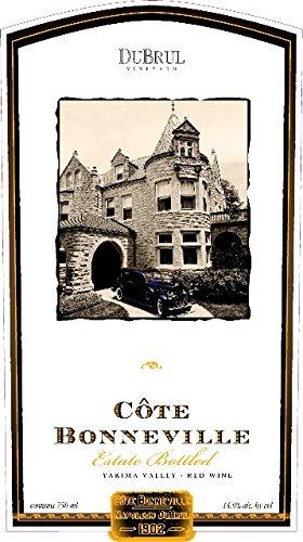 2008 Côte Bonneville Bordeaux Blend Yakima Valley Dubrul Vineyard 750 Ml