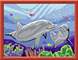 Ravensburger 28240 - Delfine - Malen nach Zahlen, 24 x 18 cm